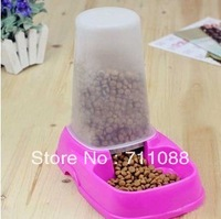 Free shipping new arrival automatic pet feeder Pet Dog Puppy Cat Kitten Rabbit Automatic Water Dispenser Food Dish Bowl Feeder