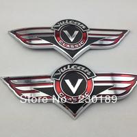 3D Gas Tank Sticker Emblem Badge Fuel Decals Fits For Kawasaki VN Vulcan Classic VN400 VN500 VN800 VN1500