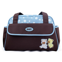 Fashion multifunctional infanticipate bag nappy bag large capacity handbag cross-body bag for ladies