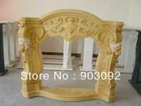 new design marble fireplace mantel hand carving fireplace NHF01