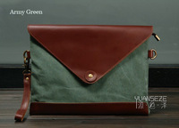 2013 new Messenger bag envelope bag Korean business men clutch bag retro package briefcase