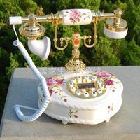 free shipping Antique telephone fashion ceramic telephone home decoration telephone