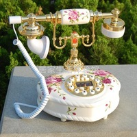 free shipping Antique telephone fashion ceramic telephone home decoration telephone