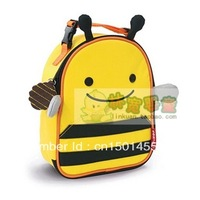 Free shipping ,Bee Zoo  lunch bag multi-function lunch bag  baby love keep warm animals lunch handbag for children GSD52469