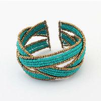 Free Shipping! Fashion Bohemian Style Beads Bracelet Multilayer Cuff Jewelry Bracelets For Women 2013  BL0182
