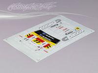 Stm-racing SUBARU IMRREZA WRX 9 DECAL SHEET  PC201010B-1   1:10 eletronic touring car
