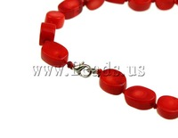 Free shipping!!!Coral Necklace,Women Jewelry, Natural Coral, red, 10-14mm, Lenth:17 Inch, Sold Per 17 Inch