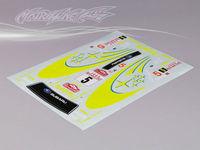 Stm-racing SUBARU IMRREZA WRX 9 DECAL SHEET  PC201010B-2  1:10 eletronic touring car