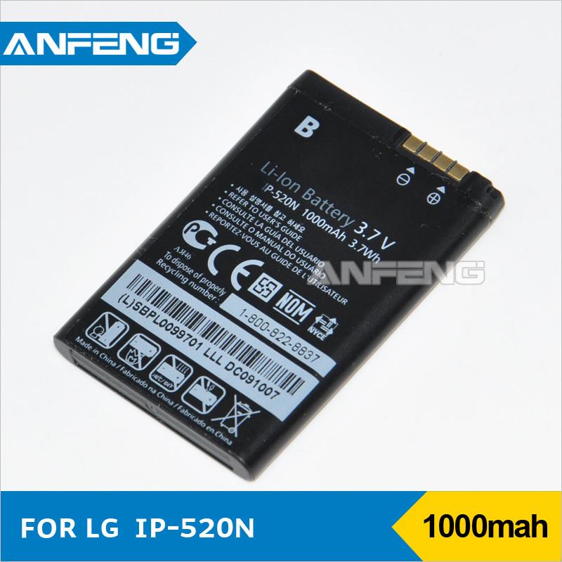 10pcs/lot cellular phone battery LGIP-520N for LG BL40 GD900 GD900e GD900 Batterie Batterij Bateria AKKU Accumulator PIL(China (Mainland))