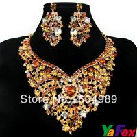 Free Shipping 1set Most Beautiful Wedding Jewelry Set WA37-8#