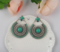 Серьги висячие Latest Statement Vintage Earrings Of India Style Health Care Nickel Free Women Jewelry Leaves Earring 1204772