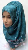 Soft crumple brief fashion Scarf  60 x 180cm  big muslim bandanas hijab hats Summer pashmina Winter Shawl