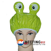 Wholesale Hair Shower hat cartoon Bathing Caps waterproof bathing caps lace Eco shower cap MT-078