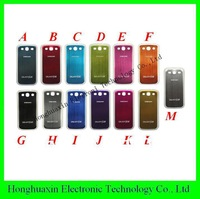 DHL free shipping for samsung s3 i9300 Wire drawing battery case for s3,9300 battery housing with high quality