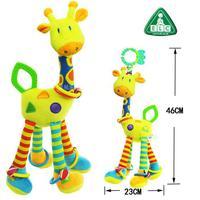 ELC plush yellow giraffe soft small toys for children / baby