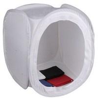 "Pixco 60 x 60 x 60 60cm 24"" Softbox Studio Tent Background Black White Blue Red"