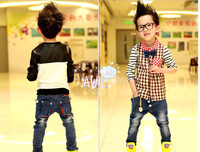 2013 now free shipping Cool  kids jeans  clothing boy jeans pants children's trouses boy jeans
