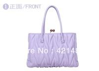 New Fashion Women's Lady Handbag PU Leather Designer Tote Crossbody Shoulder Bag , Free Shipping Dropshipping