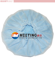 2013HOT,free shipping Thickening double layer waterproof shower cap shower cap cap disposable MT-085