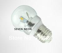 [Seven Neon]Free DHL express shipping 150pcs high quality E27 5630 3W 85-265V white/warm white led bulb light,led candle bulb