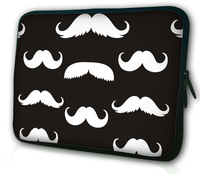 "Stylish Mustache 7 inch Soft Sleeve Protective Bag Neoprene Case Cover Pouch For Asus Memo Pad ME172V 7"" Tablet PC,7.9 iPad Mini"