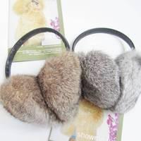 2012 fur rabbit fur earmuffs fur winter thermal fur earmuffs