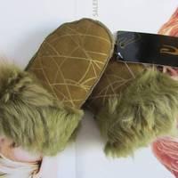 2012 wool child gloves child mitten fur gloves