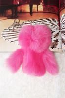 Key wallet key wallet female fur hangings key wallet women's key wallet personalized fashion rex rabbit hair