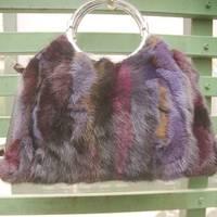 Mink hair lather-bag 2012 fur handbag fur bags fur bags