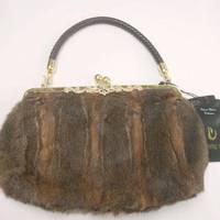 2012 vair women's handbag fur handbag fashion fur bags large