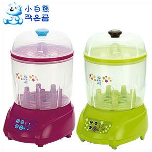 Small bear bottle sterilizer belt hl-0681 baby bottle sterilizer belt dryer steam(China (Mainland))