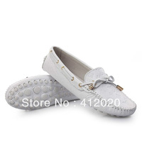 13 spring and autumn v Moccasins women's genuine leather boat shoes casual shoes