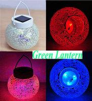 Solar Garden Mosaic Jar Lights