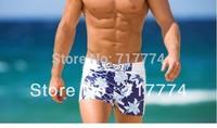 Free Shipping Wholesale/Retail 2014 New Surf Shorts/Printing Men's Sexy /Beachwear/Brand Beach Shorts S-XL