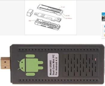 HK free shipping,UG802 RK 3066 google TV for Christimas Android4.0 TV dongle IPTV 1.6GHz Rockchip RK3066 UG802 1GB/4GB
