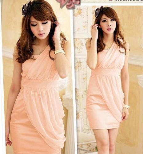 Романтичное платье из шифона