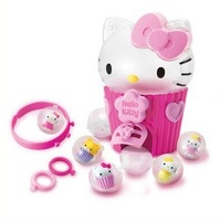 Free Shipping! 2013 new arrival hello kitty toys for girls 6 years high quality unique houses for children