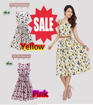 Free shipping  2013 new fashion summer casual  Brand new women's dress summer chiffon skirt personality