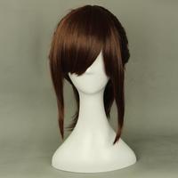 Sasha Braus reddish brown ponytail cosplay wig 320E