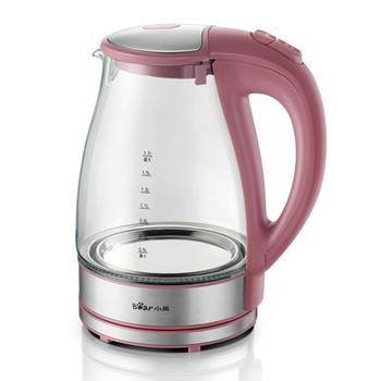 Bear bear zdh-8036 glass kettle electric heating kettle hot water pot