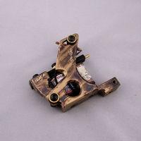 10 Wrap Coils damascus Handmade Pure Copper Shader Tattoo Machine