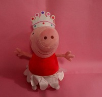 2013 New Arrival Peppa Pig Ballerina Peppa Doll Soft Toy Children Day Gift