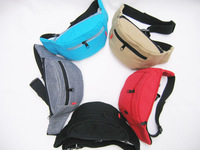2013 HQ Casual small waist pack chest pack  canvas sports waist pack 6 colors cheap portable pack