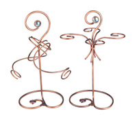 Fashion vintage exquisite iron cup holder dining table alcohol care one set = wine rack and cup rack