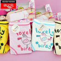 Free Shipping 6091 young girl panties girl fashion child briefs modal panties 1