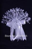 HK Post Free shipping new acrylic crystal girl flower wedding bouquet bridal stunning bead sparking