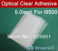 50pcs/lot OCA optical 5 inch 250um thick clear adhesive double side glue tape for samsung Galaxy s4 i9500,free shipping