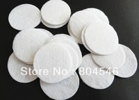 Free shipping 5*5cm Round Felt accessory patch/felt circles,DIY flower material, black and white colors available