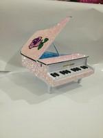 Fashion exude telephone piano rose telephone rhinestone decorated telephone handmade decorative landline phone