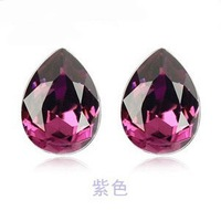 2013 new women Special for Austrian crystal drop earrings earrings female models - Teardrop  Christmas gifts  3e114